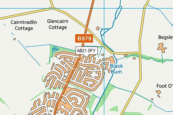 Map of DJE ENTERPRISES LTD at district scale