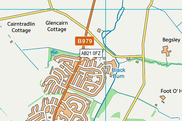 Map of CS BUCKLEY LTD. at district scale
