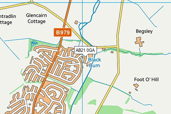 Map of ABERDEEN ACCOUNTANTS LIMITED at district scale
