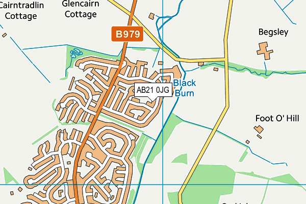 Map of BROCKWOOD CONSULTANCY LTD at district scale