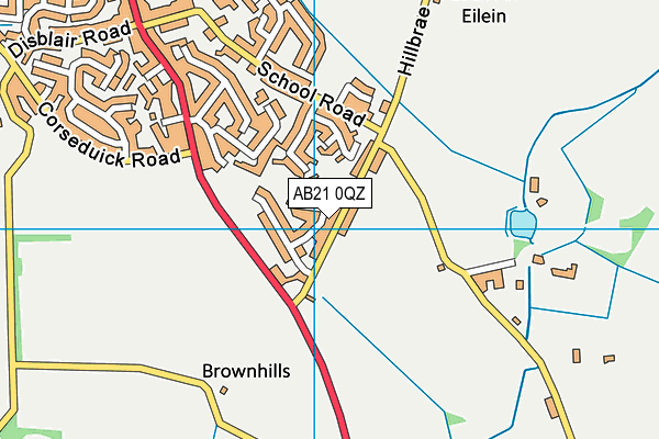 Map of DEREK MATHERS JOINERY SERVICES LTD. at district scale