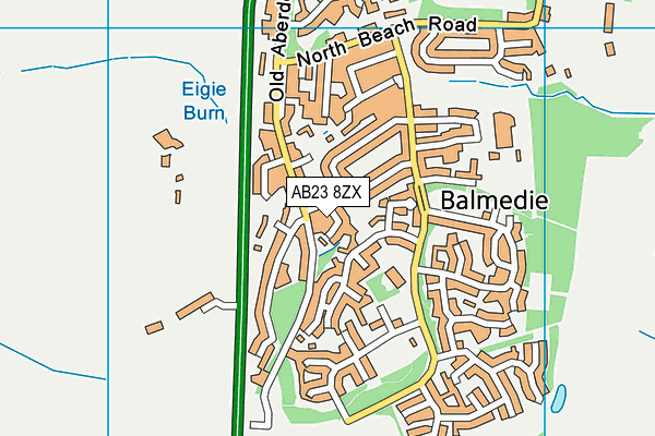 Map of GILLAHILL LTD at district scale