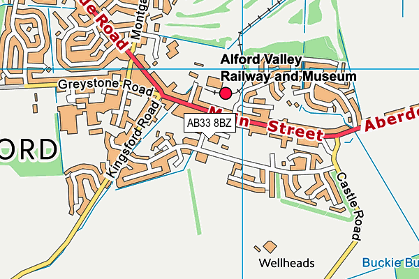Map of COUNTRY FLAVOURS (ALFORD) LTD. at district scale