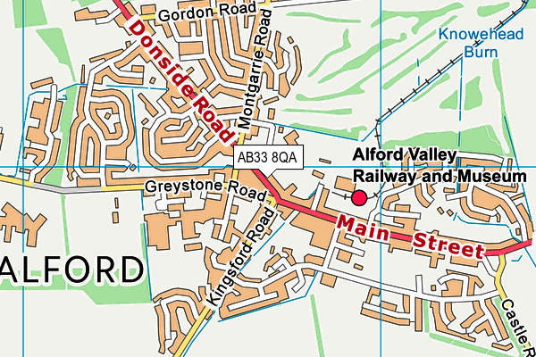 Map of KIMMIES LTD at district scale