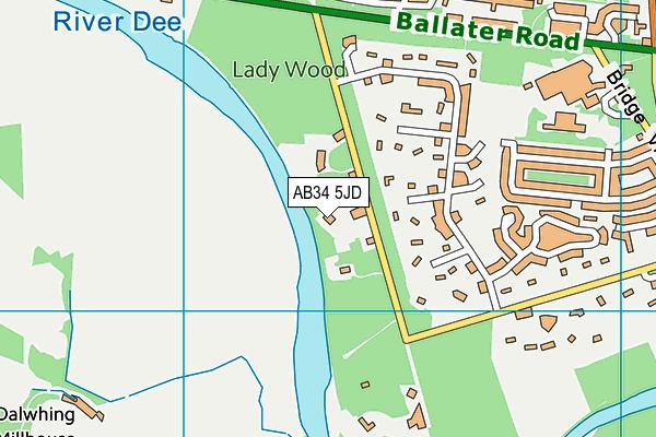 Map of AUTO DETAIL & VINYL LTD at district scale