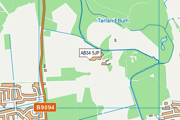 Map of FIRETRAIL LTD at district scale
