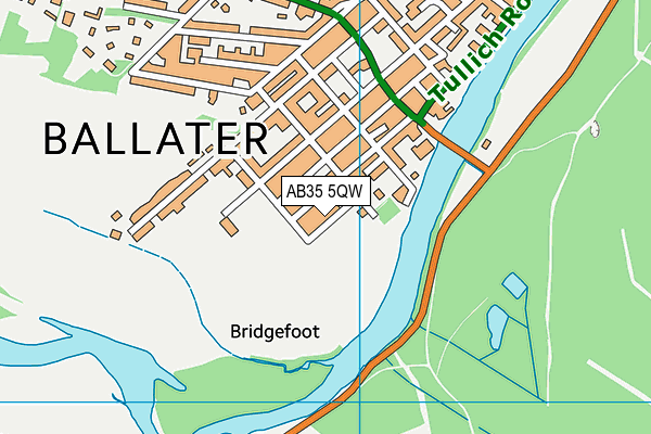 Map of BALLATER COMMUNITY ENTERPRISE LIMITED at district scale