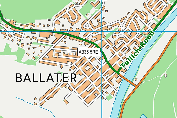 Map of FUJIA BALLATER LIMITED at district scale