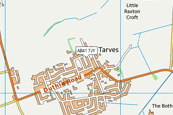 Map of MAYAN MUNCHIE LTD at district scale