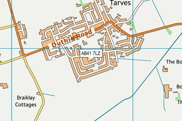 Map of CRIMOND THORNTON LTD at district scale