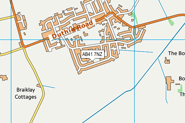 Map of STAMIN LTD. at district scale
