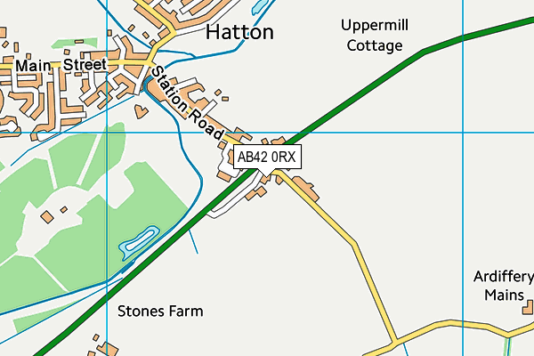 Map of HATTON MARKET LIMITED at district scale