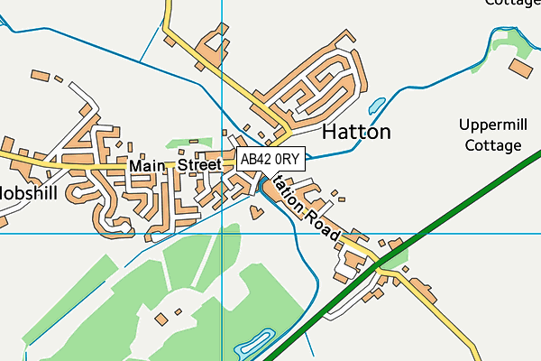 Map of THE ABERDEEN BUTTERY COMPANY LIMITED at district scale