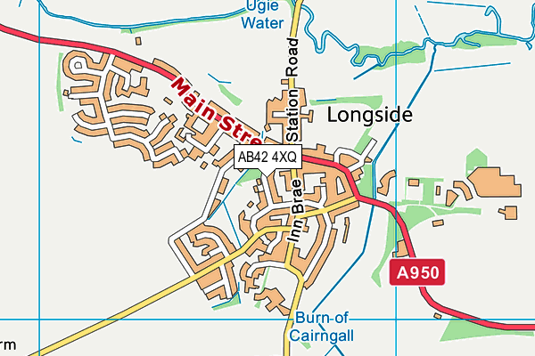 Map of ALAN CAMLEY LIMITED at district scale