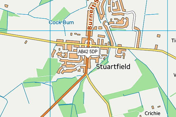 Map of WHITBURGH LIMITED at district scale