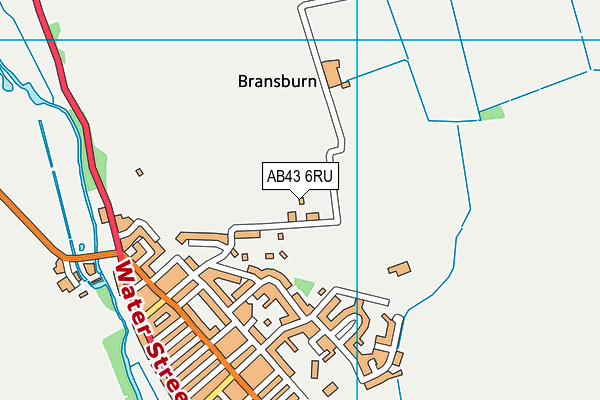 Map of MORMOND ENGINEERING LTD at district scale