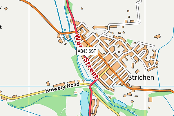 Map of PACY ROAD LTD at district scale
