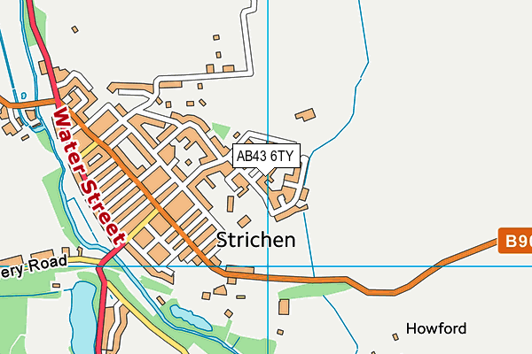 Map of A WISELY FLOORING LTD at district scale
