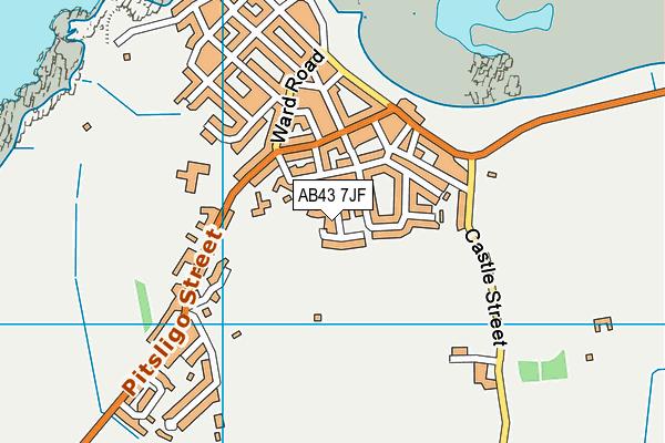 Map of IAN GATT LTD. at district scale