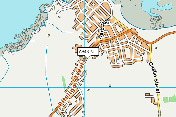 Map of ROS ABHARTAICH LIMITED at district scale