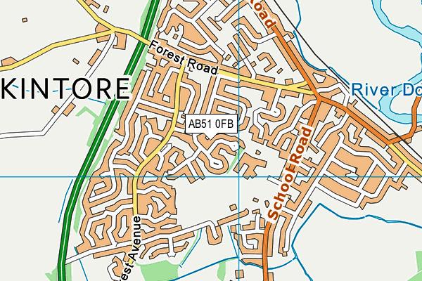 Map of EC STUDIOS LTD at district scale