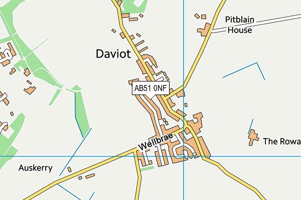 Map of GLENBREX LTD at district scale