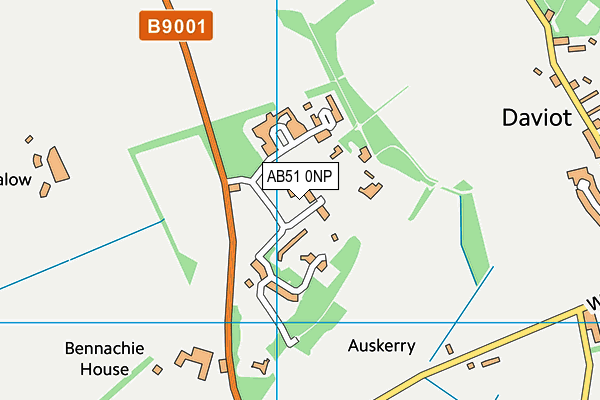Map of QUICK4U PROPERTIES LIMITED at district scale