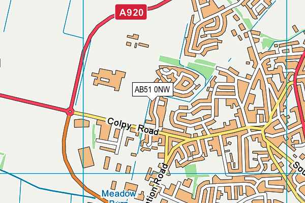Map of THT MCBEY LTD at district scale