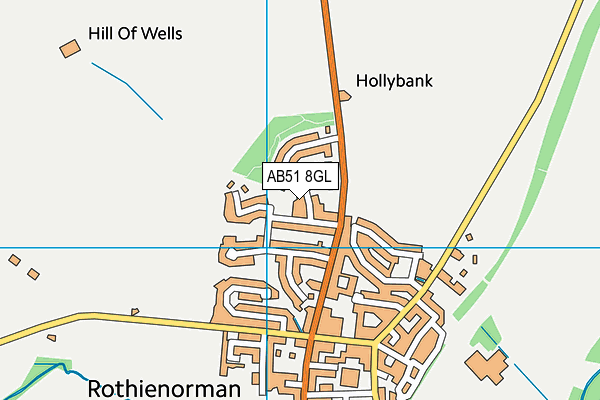 Map of GFS PROPERTY MAINTENANCE LTD at district scale