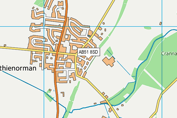 Map of MILLIE'S PAWS LTD at district scale