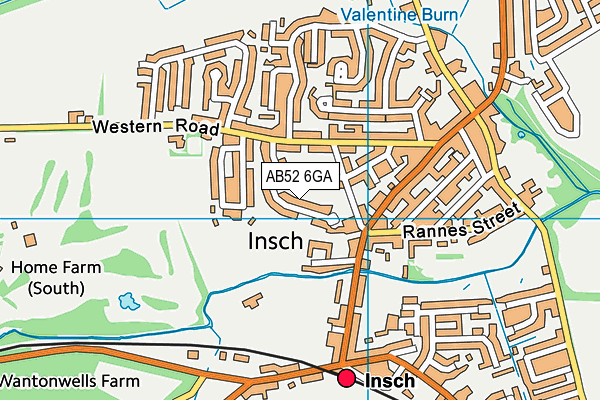 Map of EVANS VERTICAL SERVICES LTD at district scale