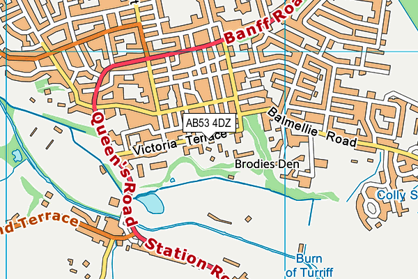 Map of JAMES G IRONSIDE LIMITED at district scale