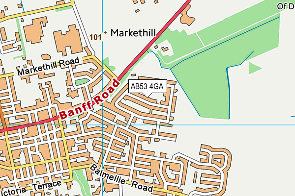 Map of LET US DARE LTD at district scale