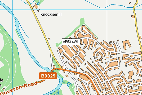 Map of D CRUICKSHANK JOINERY LTD at district scale