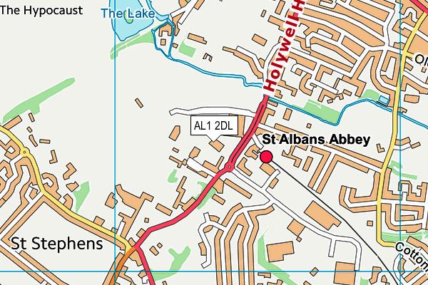 Westminster Lodge Leisure Centre map (AL1 2DL) - OS VectorMap District (Ordnance Survey)