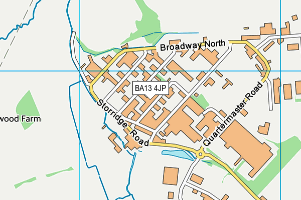 Map of BOLWELL 17 LTD at district scale