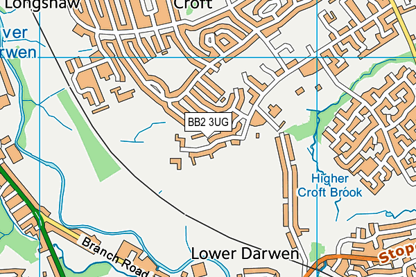 Our Lady of Perpetual Succour Roman Catholic Primary School Blackburn map (BB2 3UG) - OS VectorMap District (Ordnance Survey)