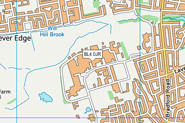 Royal Bolton Hospital Map BL4 0JR maps, stats, and open data