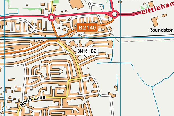 Map of ADFIRE DIGITAL LTD at district scale