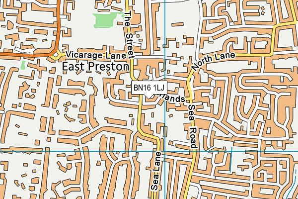 Map of BREK-FEST LTD at district scale