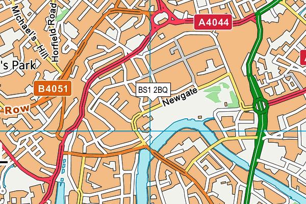 BS1 2BQ map - OS VectorMap District (Ordnance Survey)
