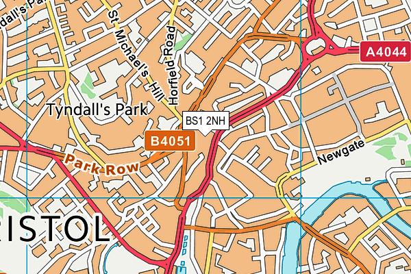 BS1 2NH map - OS VectorMap District (Ordnance Survey)