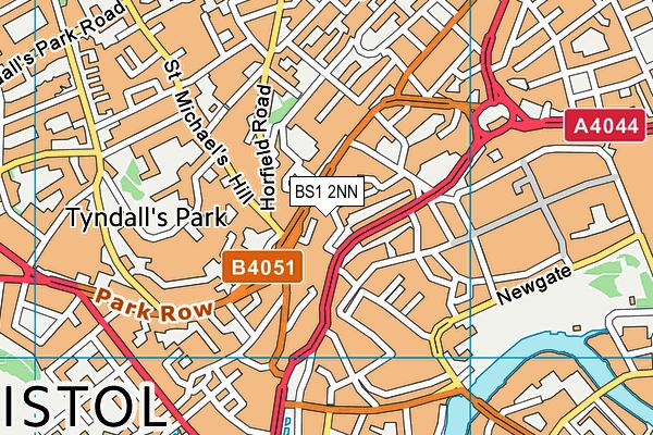 BS1 2NN map - OS VectorMap District (Ordnance Survey)