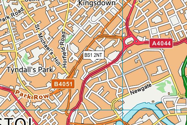 BS1 2NT map - OS VectorMap District (Ordnance Survey)