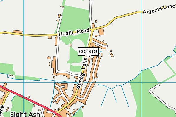 Map of THE CRICKETERS (2006) LTD at district scale