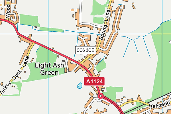 Map of ASHLAWN LIMITED at district scale