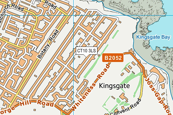 Map of STREETER & CO LTD at district scale