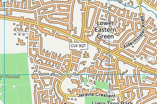 Limbrick Wood Primary School map (CV4 9QT) - OS VectorMap District (Ordnance Survey)