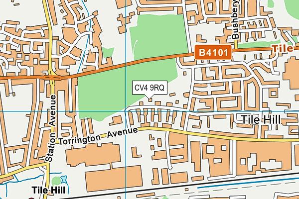 Leigh Church of England Academy map (CV4 9RQ) - OS VectorMap District (Ordnance Survey)