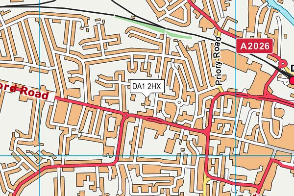 Our Lady's Catholic Primary School, Dartford map (DA1 2HX) - OS VectorMap District (Ordnance Survey)